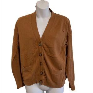 Old navy brown cardigan